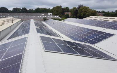 Fabdecs Photovoltaik-Projekt
