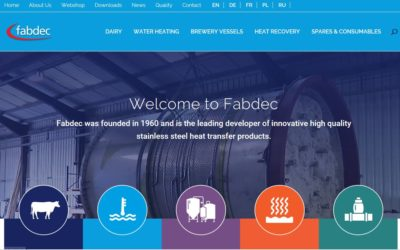 Fabdec puts customers first with updated website