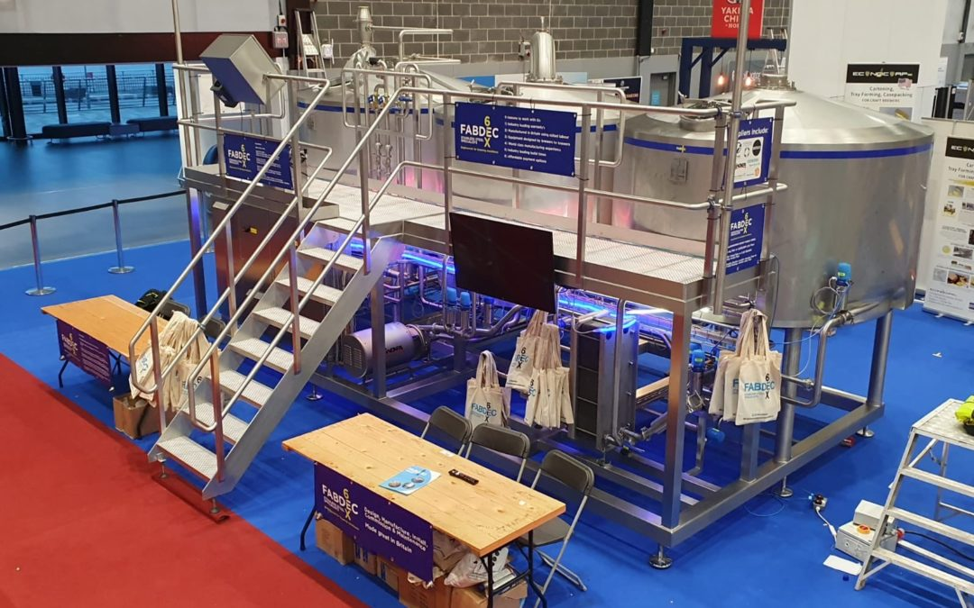 Fabdec brewhouse on display at leading exhibition